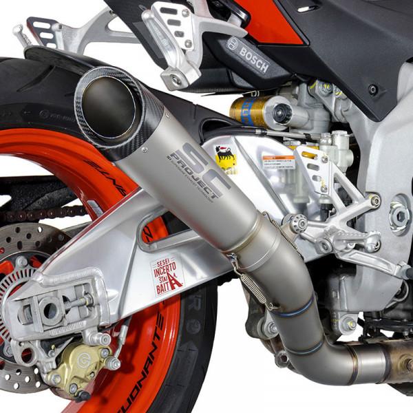 "Suzuki GSX650F Katana 650 9/"" Carbon Oval Muffler Exhaust 07-10 11 12 13 14 15 16"