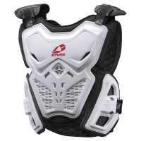 EVS F2 Roost Deflector White