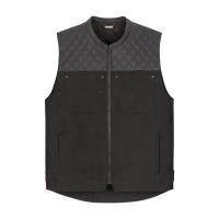 Icon Chamonix Denim Vest Black