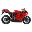 Ducati 848 Cox Racing Aluminum Motorcycle Radiator Guards
