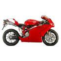 Ducati 749, 999 Cox Racing Aluminum Motorcycle Radiator Guards