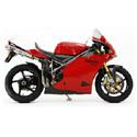 Ducati 998 Cox Racing Aluminum Motorcycle Radiator Guards
