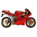 Ducati 748, 916, 996 Cox Racing Aluminum Motorcycle Radiator Guards