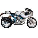 Ducati Paul Smart Cox Racing Aluminum Motorcycle Radiator Guards