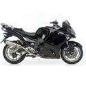 06-13 Kawasaki GTR1400 Concours Cox Racing Aluminum Motorcycle Radiator Guards