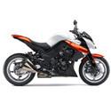 09-13 Kawasaki Z1000, Z750 Cox Racing Aluminum Motorcycle Radiator Guards