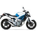 09-15 Suzuki SVF 650 Gladius Arrow Motorcycle Exhaust