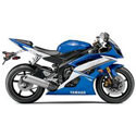 06-16 Yamaha YZF-R6 Graves Motorcycle Exhaust