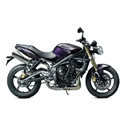 07-12 Triumph Street Triple Scorpion Motorcycle Exhaust