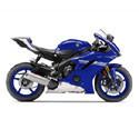 06-16 Yamaha YZF-R6 Scorpion Motorcycle Exhaust