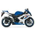 07-08 Suzuki GSXR 1000 Yoshimura Motorcycle Exhaust