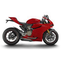 Ducati LighTech Adjustable Motorcycle Racing Rearsets