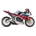 08-18 Honda CBR 1000RR LighTech Adjustable Motorcycle Racing Rearsets