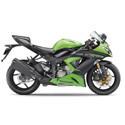 13-14 Kawasaki ZX6R 636 LighTech Adjustable Motorcycle Racing Rearsets