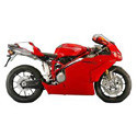 Ducati 749/999 Woodcraft Racing Adjustable Motorcycle Rearsets