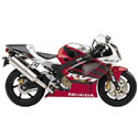 Honda RC51 Woodcraft Adjustable Motorcycle Rearsets