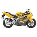 Honda CBR 600F4i Woodcraft Racing Adjustable Motorcycle Rearsets