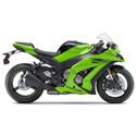 Kawasaki ZX10R Woodcraft Adjustable Motorcycle Rearsets