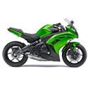 12-13 Kawasaki Ninja 650 Driven Racing Motorcycle Axle Block Sliders