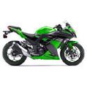 131-4 Kawasaki Ninja 300 Driven Racing Motorcycle Axle Block Sliders