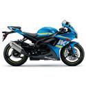 Suzuki GSXR 600/750 Driven Racing Motorcycle Axle Block Sliders