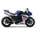 Yamaha Driven Racing Motorcycle Axle Block Sliders