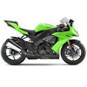 Kawasaki Sato Racing Motorcycle Frame Sliders