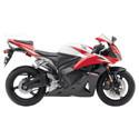 09-12 Honda CBR 600RR Shogun Motorsports Motorcycle Frame Sliders