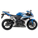 07-08 Honda CBR 600RR Shogun Motorsports Motorcycle Frame Sliders