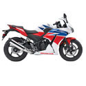 15-19 Honda CBR 300R Shogun Motorsports Motorcycle Frame Sliders