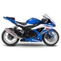 08-10 Suzuki GSXR 600/750 Shogun Motorsports Motorcycle Frame Sliders