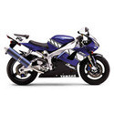 00-01 Yamaha YZF-R1 Shogun Motorsports Motorcycle Frame Sliders