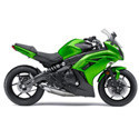 Kawasaki Ninja 650R Woodcraft Motorcycle Frame Sliders