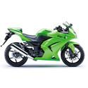 08-12 Kawasaki Ninja 250 Woodcraft Racing Motorcycle Frame Sliders
