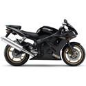 Yamaha YZF-R6S Woodcraft Motorcycle Frame Sliders