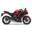 06-16 Kawasaki Ninja 650 Shogun Motorsports Motorcycle Swingarm Slider Spools