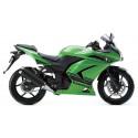 08-12 Kawasaki Ninja 250R Shogun Motorsports Motorcycle Swingarm Slider Spools