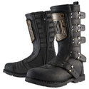Icon Ladies Motorcycle Boots