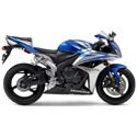 07-08 Honda CBR 600RR Motorcycle Armour Bodies