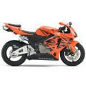 05-06 Honda CBR 600RR Motorcycle Armour Bodies